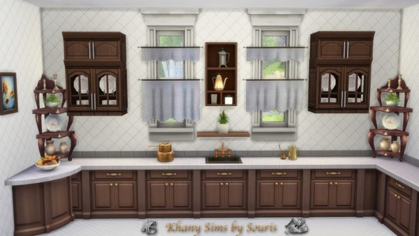 Khany Sims: Cafe curtains