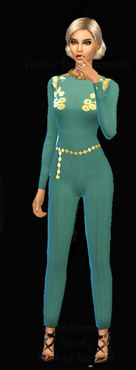 Dreaming 4 Sims: Fallen jumpsuit