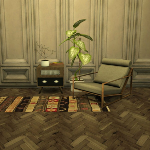 Leo 4 Sims: Mila Baughman armchair
