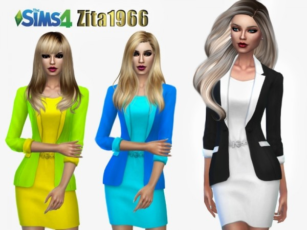 The Sims Resource: Sleek outfit by ZitaRossouw