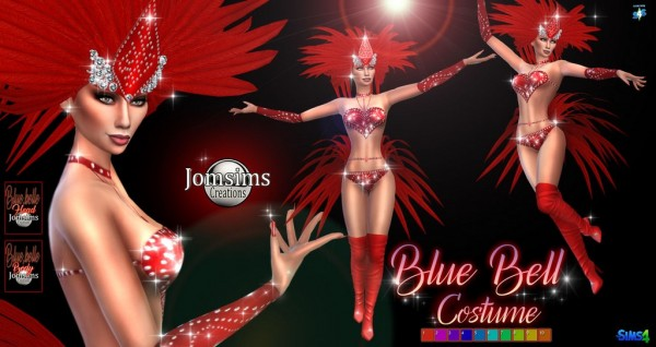 Jom Sims Creations: Blubell costume