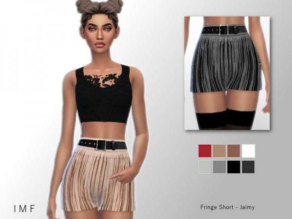 The Sims Resource: Fringe Short   Jaimy by IzzieMcFire