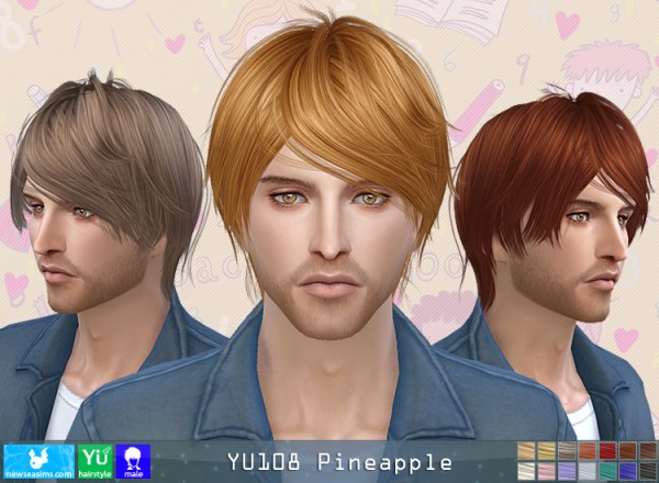 NewSea: YU108 Pineapple donation hairstyle
