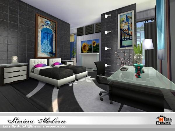 The Sims Resource: Simina Modern house by Autaki