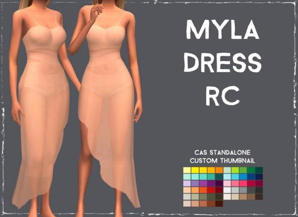 Simsworkshop: Myla Dress