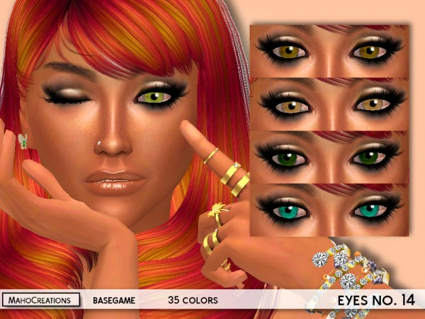 The Sims Resource: Eyes no.14 by MahoCreations