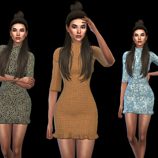 Leo 4 Sims: Isabella Dress