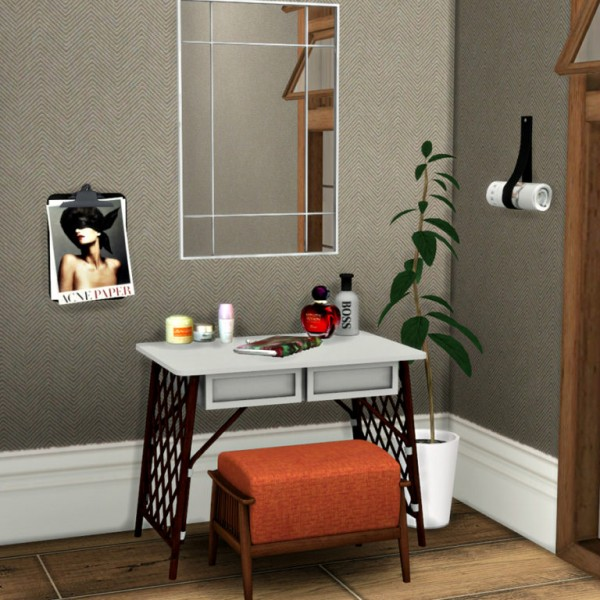 Leo 4 Sims Vanity Clutter Sims 4 Downloads