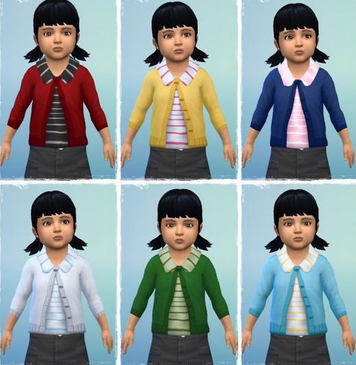 Birkschessimsblog: Collar Cardigan Toddler