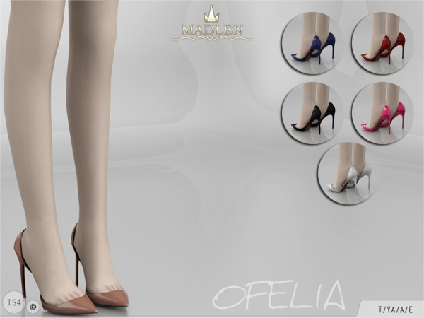 The Sims Resource: Madlen`s Ofelia Shoes by MJ95