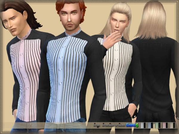 The Sims Resource: Shirt Collar Stand 2 by bukovka