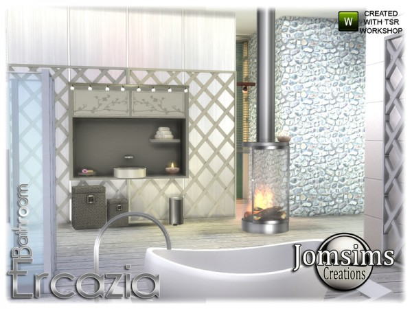 The Sims Resource: Ercazia bathroom by jomsims