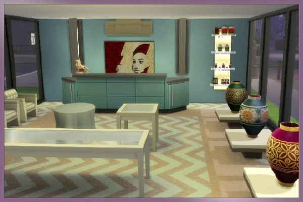 Blackys Sims 4 Zoo: Angle of incidence house by Kosmopolit