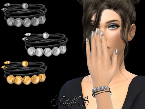 The Sims Resource: NataliS Flat Beads Bracele