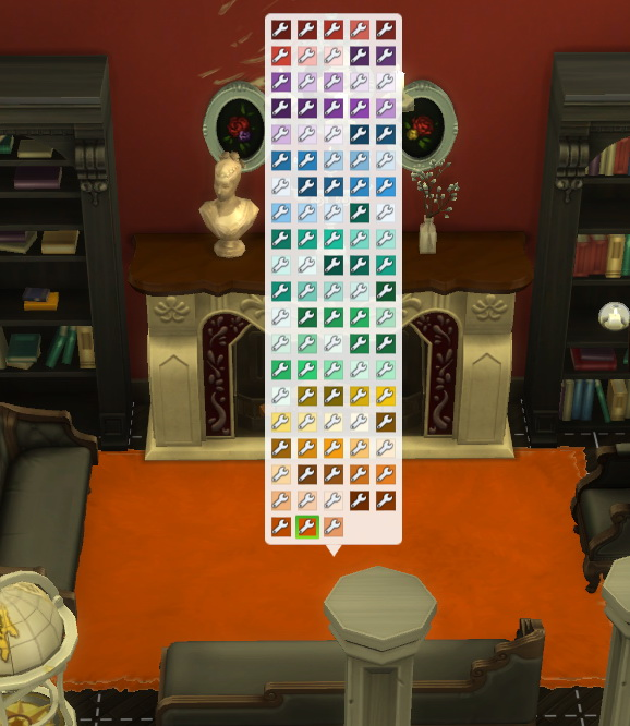 Simsworkshop: City Living Rug with More Colours by DollFaceSim