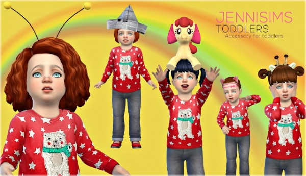 Jenni Sims: Accessories Sets Toddlers