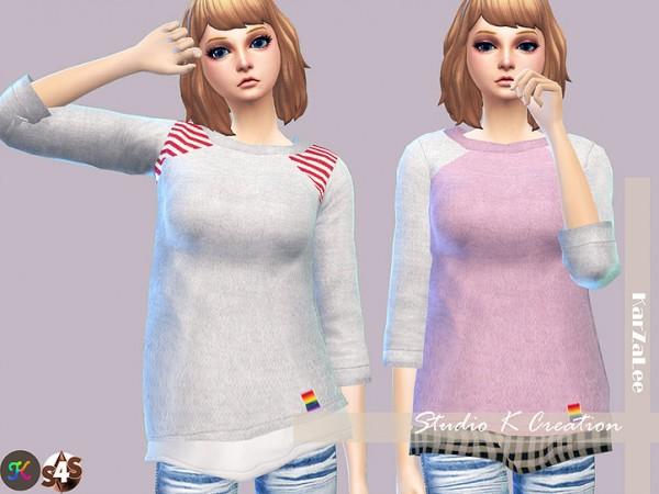 Studio K Creation: Giruto 20 Raglan Sleeve Tee for her