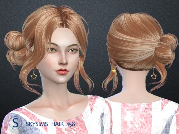 Butterflysims: Skyhair 158 hairstyle