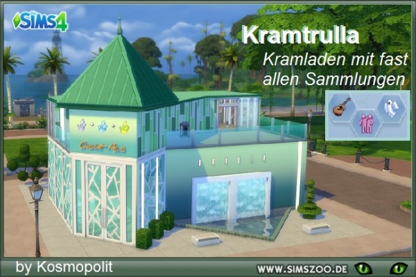 Blackys Sims 4 Zoo: Kramtrulla house by Kosmopolit