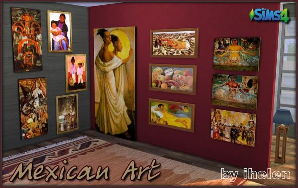 Ihelen Sims: Mexican art