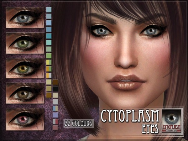 The Sims Resource: Cytoplasm Eyes by RemusSirion