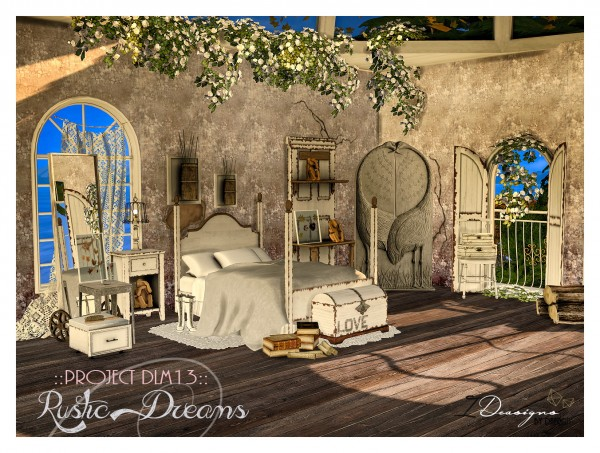 Sims 4 Designs: Rustic Dreams