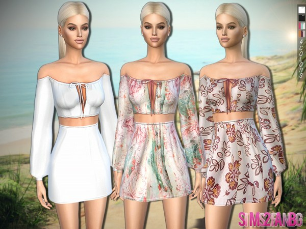 The Sims Resource: 318   Summer Outfit by sims2fanbg