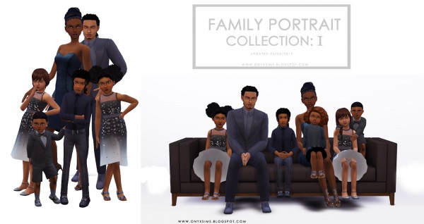 Onyx Sims: Family Portrait Collection: One