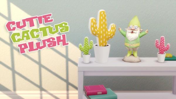 Hamburgercakes: Cutie Cactus Plush