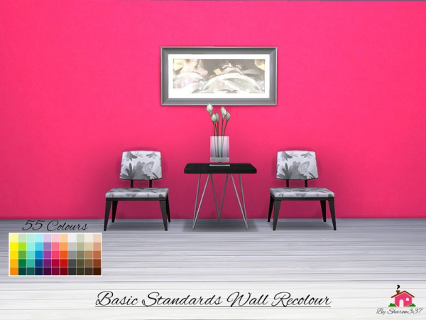 The Sims Resource Basic Standards Wall Recolour By