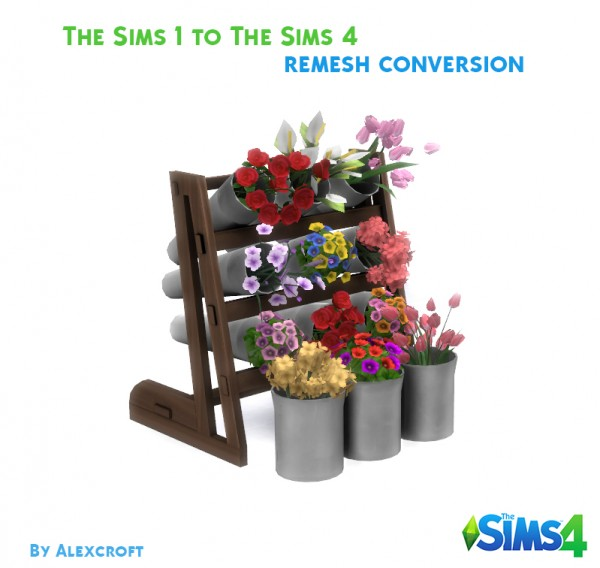 Mod The Sims: Flower Display by AlexCroft