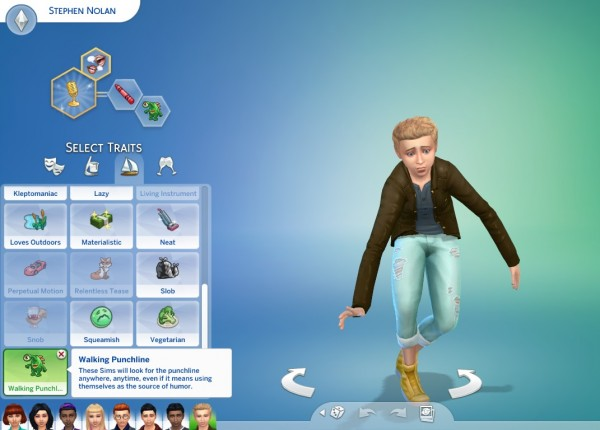 sims 4 how to make a teenager get a job