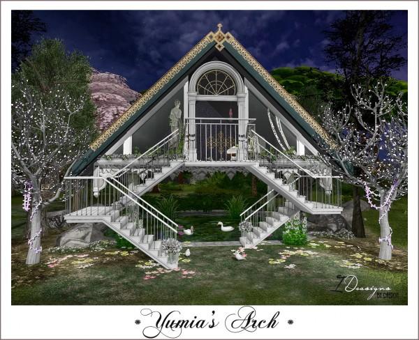 Sims 4 Designs: Yumia's Arch • Sims 4 Downloads