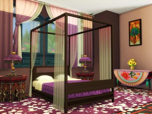 The Sims Resource: Exotic Villa   No CC! by Danuta720