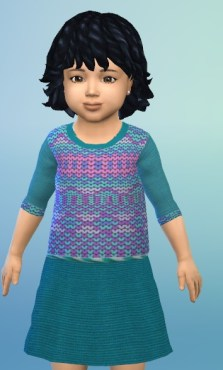 Birkschessimsblog: Knit Dress Toddler