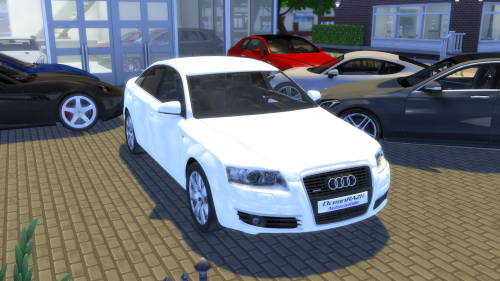 oceanrazr audi a6 limousine sedan sims 4 downloads. Black Bedroom Furniture Sets. Home Design Ideas