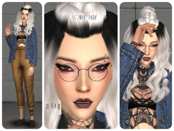 The Sims Resource: Sonya Park by Tea