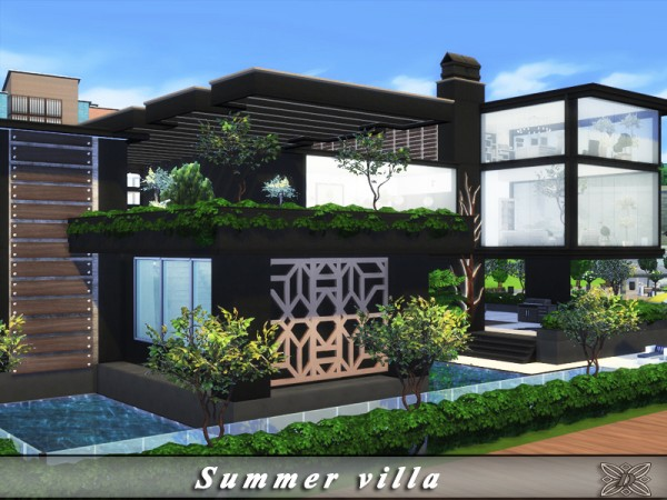 The Sims Resource: Summer villa by Danuta720
