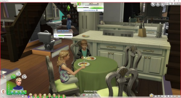 Mod The Sims: Choose who you Call to Meal by LittleMsSam