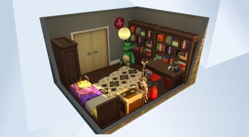 Chillis Sims: Blaire kidsroom