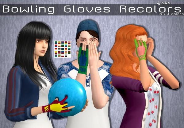 Tukete: Bowling Gloves Recolors