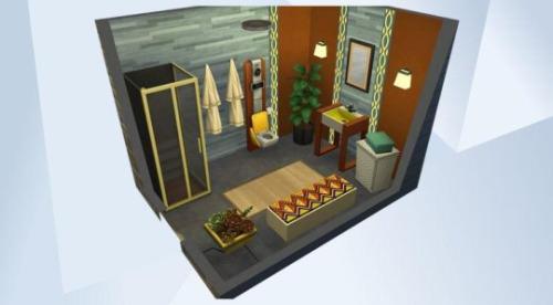 Chillis Sims: Retro bathroom