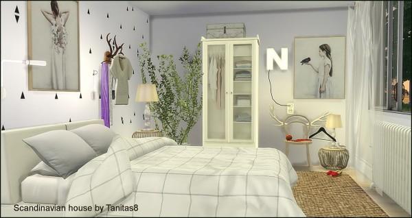 Tanitas Sims: Scandinavian house