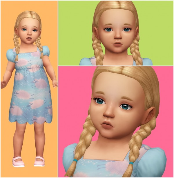Aveira Sims 4 Lilly Toddler Model Sims 4 Downloads