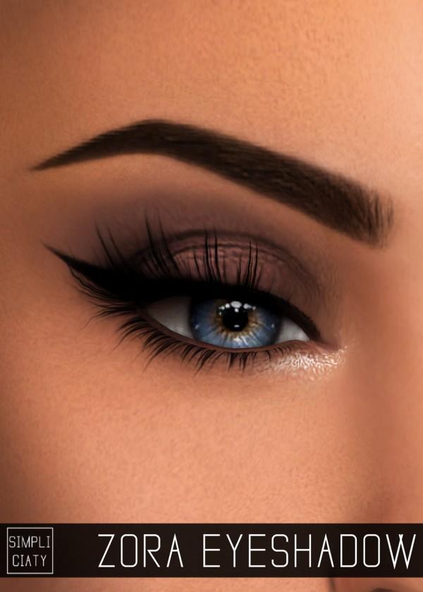 Simpliciaty: Zora eyeshadow