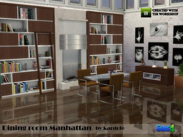 The Sims Resource: Diningroom Manhattan by kardofe