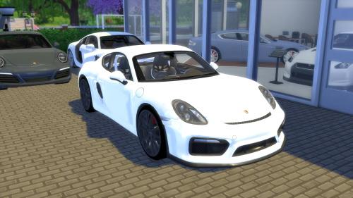 OceanRAZR: Porsche Cayman GT4