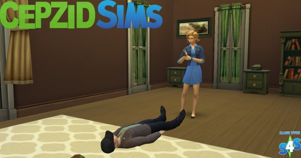 Simsworkshop: Kidnapping Brave People Pose by cepzid