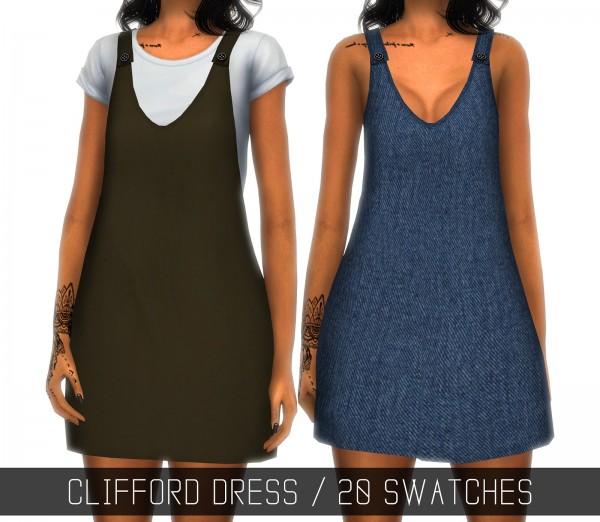 Simpliciaty: Clifford dress