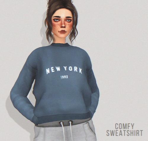 Pure Sims: Comfy sweatshirt